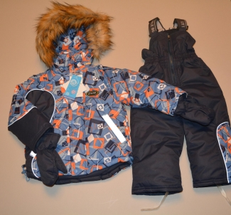 Зимний костюм для мальчика  (мембрана)