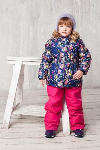 Зимний костюм для девочки Алла