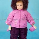 Зимний костюм  для девочки (Делается конвертом)