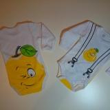 Боди для новорожденных Апельсин