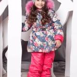 Зимний костюм для девочки Роза