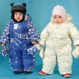 Зимний комбинезон-трансформер для детей